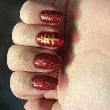 Chinese New Year 2015 nail art by KiboSanti
