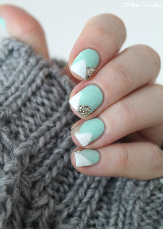 Fresh nail art by Cocosnailss