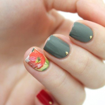 Spring nail art by Cocosnailss