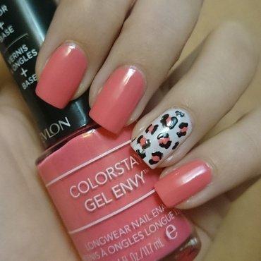 Leopard Print nail art by Nadia Joubert