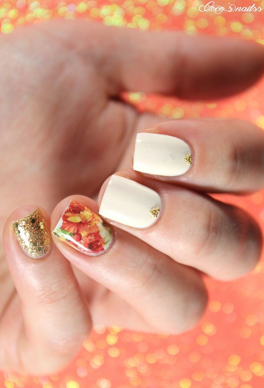 Vintage nail art by Cocosnailss