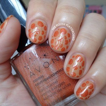 Neutral 20and 20orange 20blobbicure 20nail 20art thumb370f