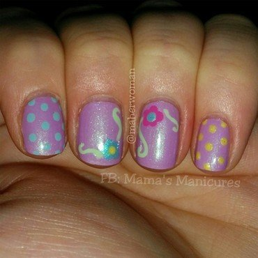 Spring has Sprung! nail art by Mama's Manicures (maherwoman)