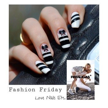JPGaulthier x Pataugas Fashion Friday for Didoline nail art by Love Nails Etc