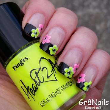 Konad m31 nail art by Gr8Nails