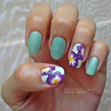 Missing summer nail art by Roxy Ch