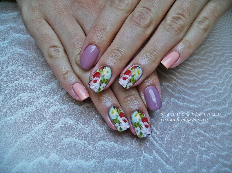 KKCenterHK Water Decals nail art by Roxy Ch
