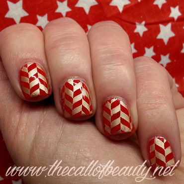 Nail 20art 20of 20the 20day 20  20poppy 20red 20and 20gold 20stamping 20 13  20wm thumb370f