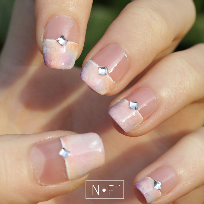 Late spring arrival nail art by NerdyFleurty