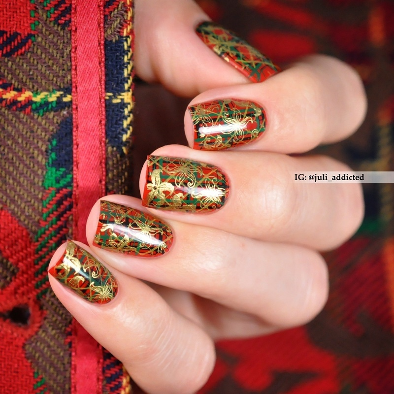 #94 nail art by Juli