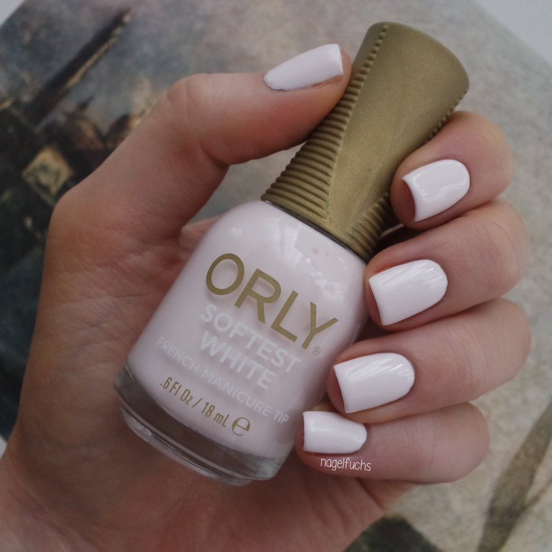 Orly Softest White Swatch By Nagelfuchs Nailpolis