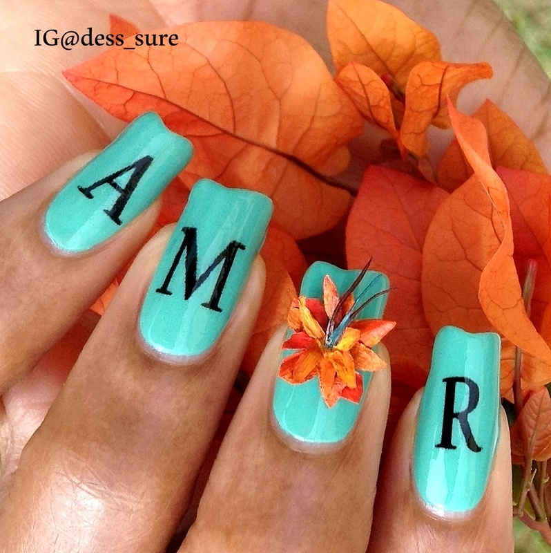 Spring love nail art by Dess_sure