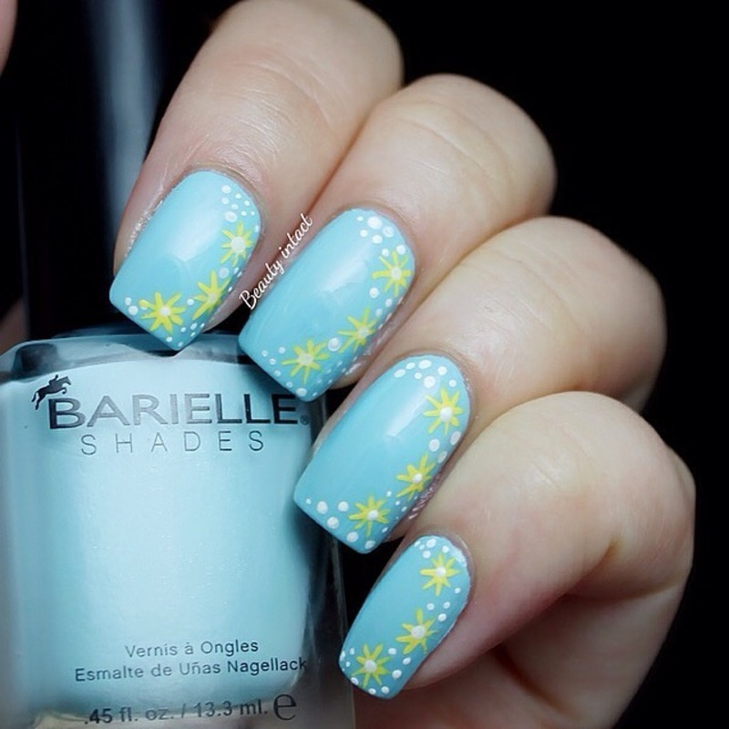 Piggieluv Freehand Stairway To Heaven Nail Art: Heaven Sent Nail Art By Beauty Intact