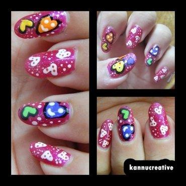 Valentine's Day Nail Art 2014 nail art by HerCreativePalace (kanika)
