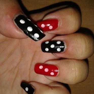 Dice nail art nail art by HerCreativePalace (kanika)