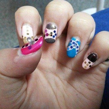 Color show nail art nail art by HerCreativePalace (kanika)