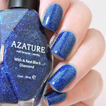 azature Azature Blue Swatch by Marine Loves Polish