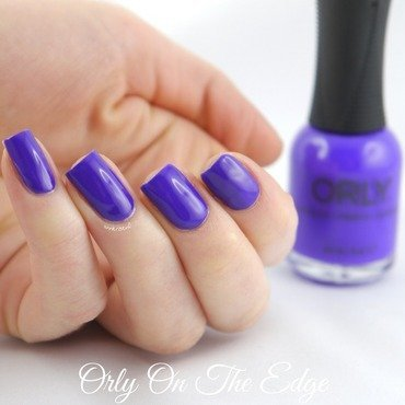 Orly On The Edge Swatch by Ann-Kristin