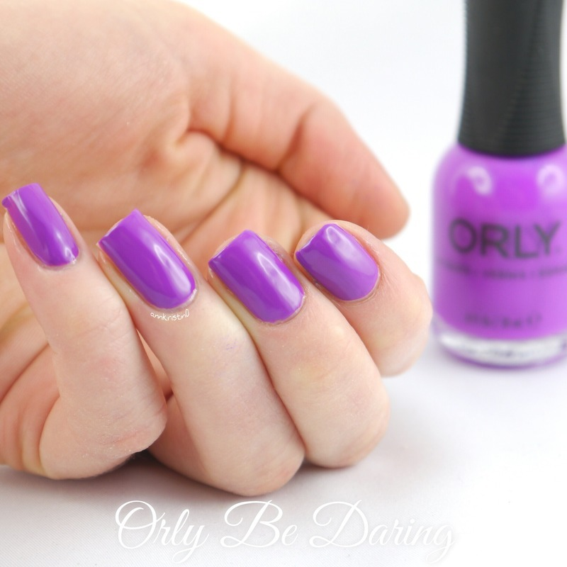 Orly Be Daring Swatch by Ann-Kristin