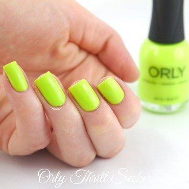 Orly Thrill Seeker Swatch by Ann-Kristin