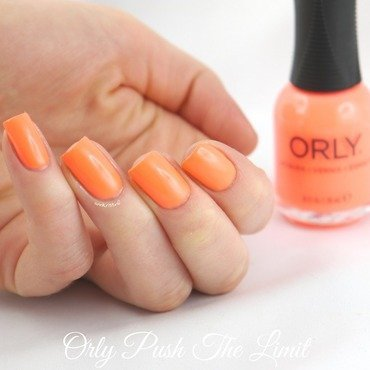 Orly Push The Limit Swatch by Ann-Kristin