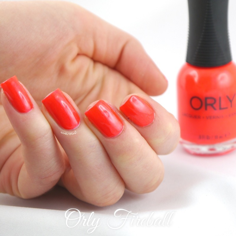 Orly Fireball Swatch by Ann-Kristin