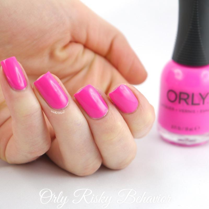 Orly Risky Behavior Swatch by Ann-Kristin