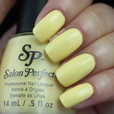 Salon Perfect Mellow Yellow Swatch by Beauty Intact