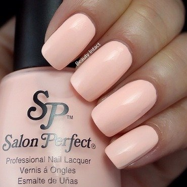 Salon Perfect Georgia peach Swatch by Beauty Intact