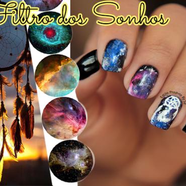 Dream filter Nail nail art by Siça Ramos