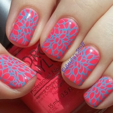 Stamping Sunday 4-19-2015 nail art by Jenette Maitland-Tomblin