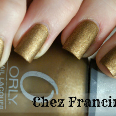 Orly Solid Gold Swatch by Francine
