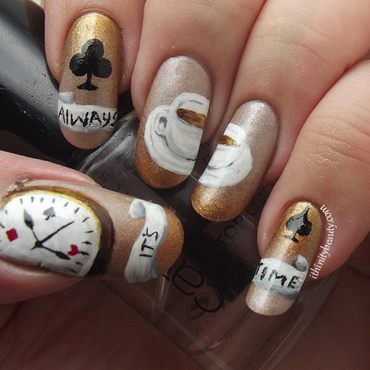 Its Always Tea Time! nail art by Ithfifi Williams
