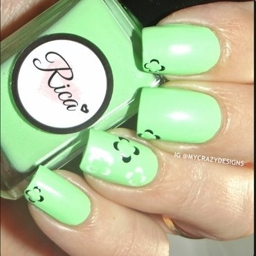 Rica Summer Mint Swatch by Mycrazydesigns