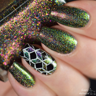 Enchanted Polish Unicorn Swatch by simplynailogical