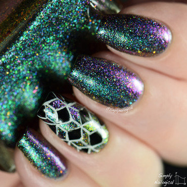 Enchanted Polish Siren Swatch by simplynailogical