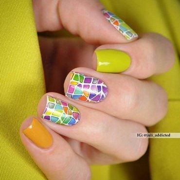 #95 nail art by Juli