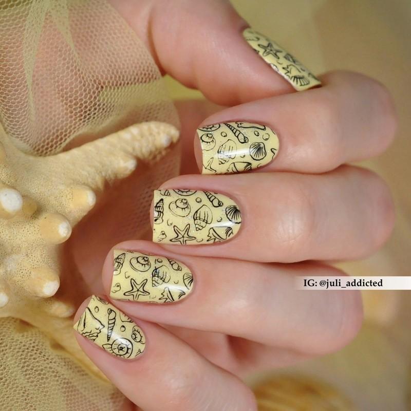 #96 nail art by Juli
