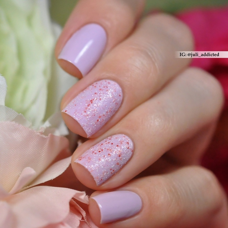 Anny Bridal shower and Anny No risk no fun Swatch by Juli