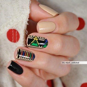 #99 nail art by Juli