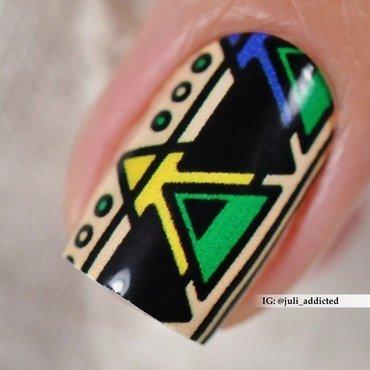 #99-2 nail art by Juli
