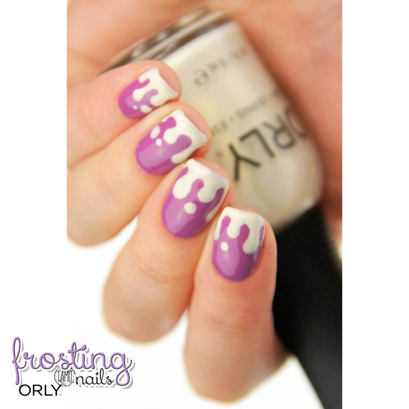 Frosting nails nail art by Paulina