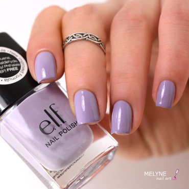elf Lilac Swatch by melyne nailart