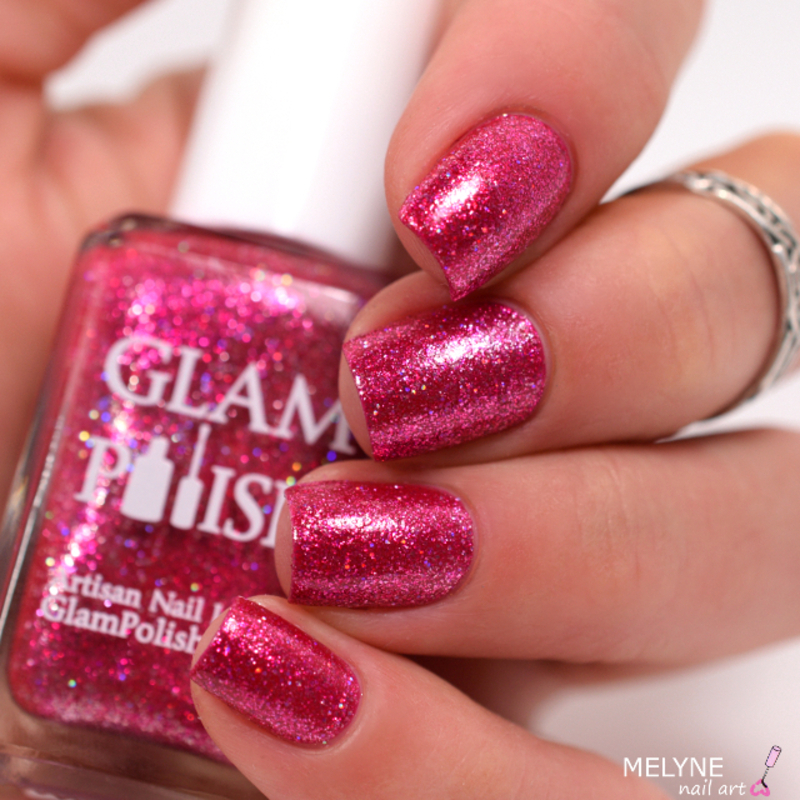 Glam Polish GEE! Swatch by melyne nailart
