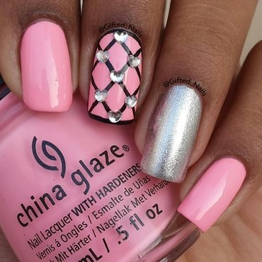 simple nail art by Gifted_nails
