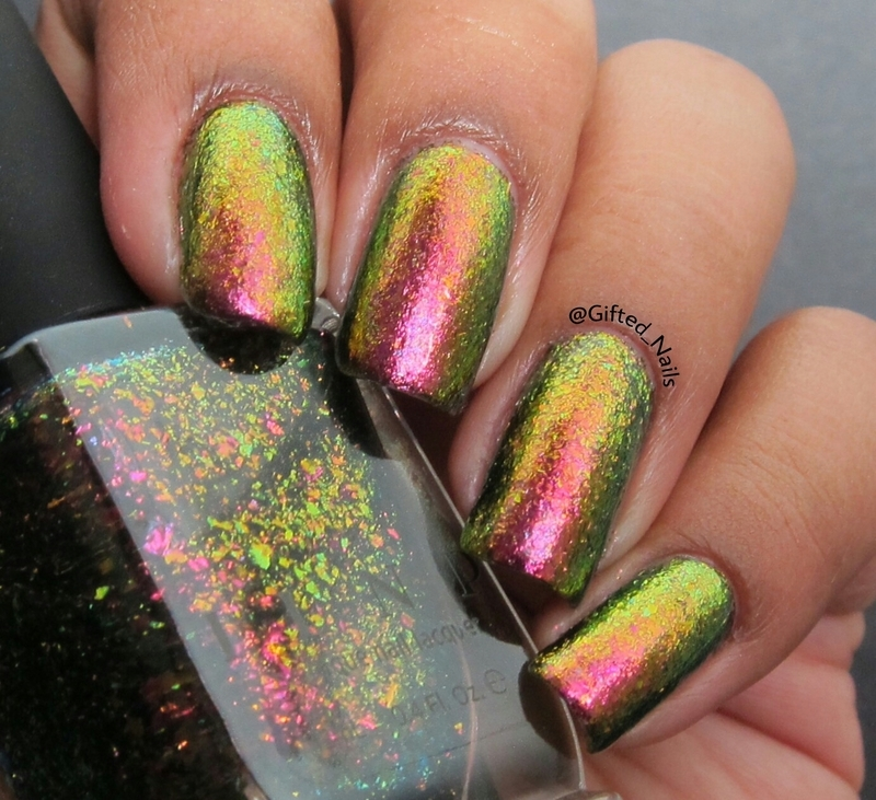 ILNP Electric Carnival Swatch by Gifted_nails