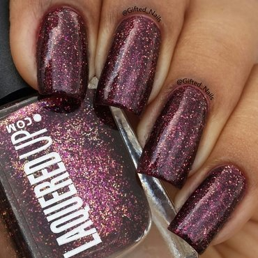 laqueredup devious Swatch by Gifted_nails