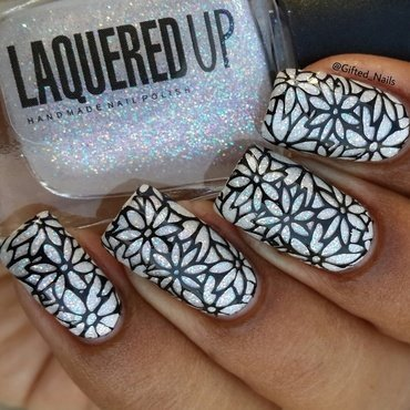 stamping nail art by Gifted_nails