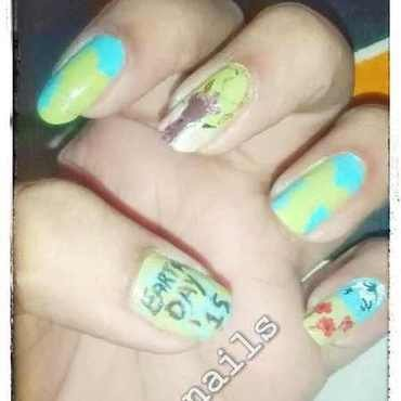 Earth Day  nail art by Wish Mrt'xa