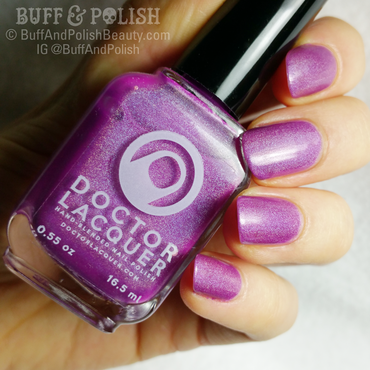 Doctor Lacquer Betalain Holo Swatch by Buff & Polish